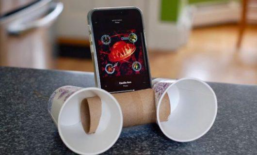 DIY: Cómo hacer tu propio altavoz casero para el móvil