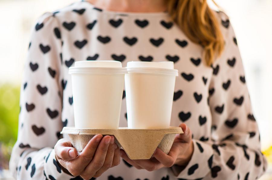 Bandejas café para llevar