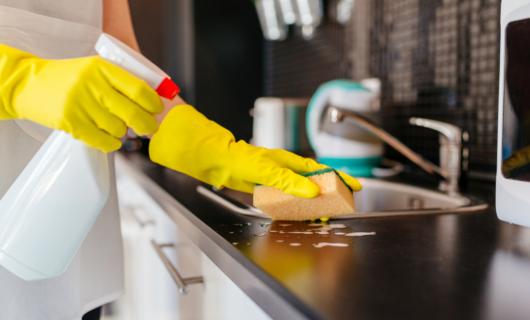 Claves para limpiar los gérmenes en la cocina