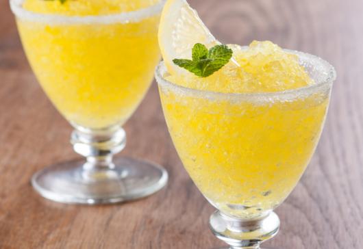 Receta de granizado de limón